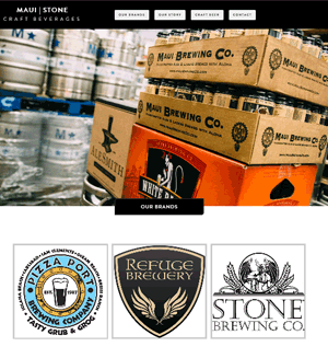 Maui-Stone Craft Beers